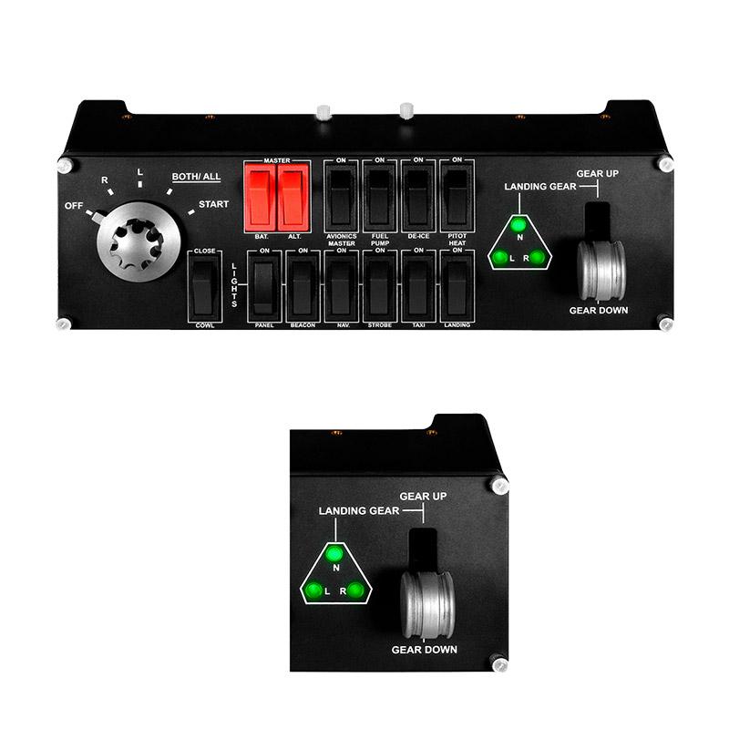 罗技Flight Switch Panel专用驾驶舱模拟开关控制器