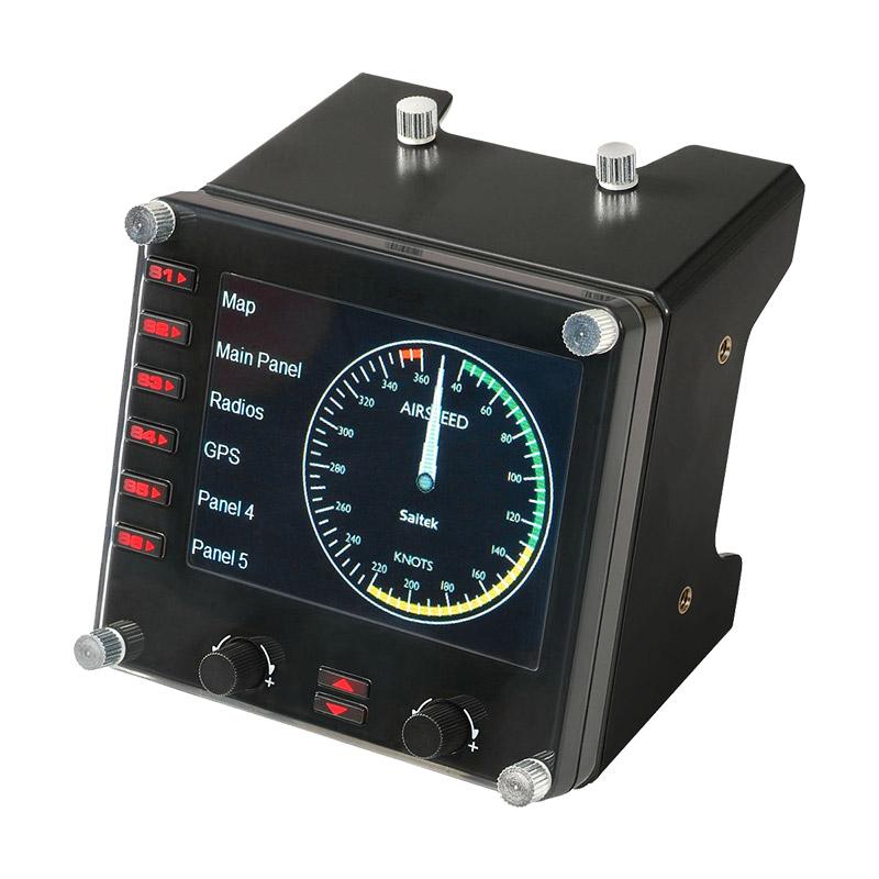 罗技Flight Instrument Panel专用多仪表 LCD 面板模拟控制器