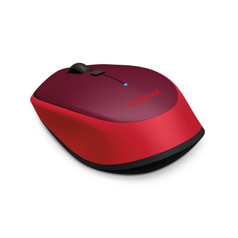 罗技无线鼠标M336(红色)