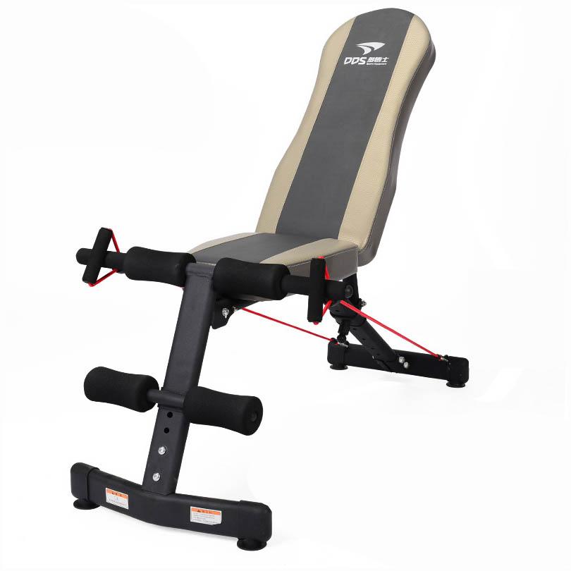多德士(DDS) XF002 专业级多功能哑铃凳 仰卧起坐健腹肌板 家用运动健身器材 小飞鸟系列