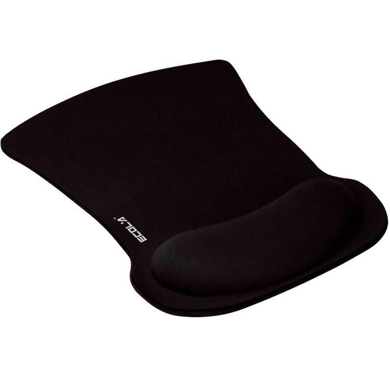 宜客莱(ECOLA)MPD-016BK 超舒服Pro-Fit人体工学护腕式鼠标垫