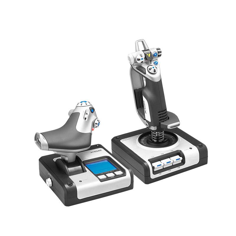 罗技X52 HOTAS油门和摇杆模拟控制器