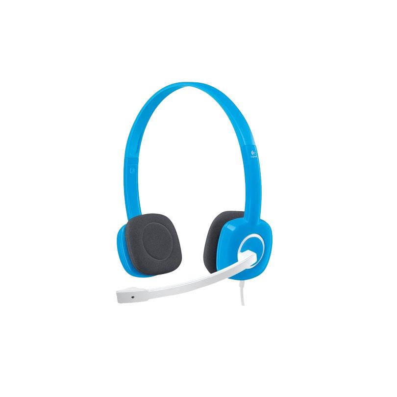 Logitech罗技 H150(蓝色) 立体声耳机