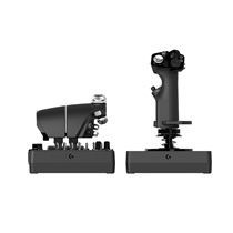 罗技X56 HOTAS RGB油门和摇杆控制器