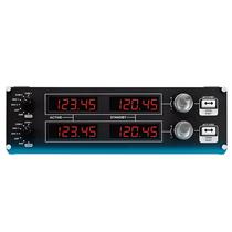 罗技Flight Radio Panel 专用驾驶舱模拟无线电控制器