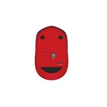 罗技M337蓝牙无线鼠标 商务办公电脑笔记本WIN7/8 MAC(红色)