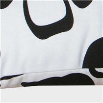 艾薇(AVIVI)全棉粗布靠枕背垫办公汽车午睡旅行护腰颈抱枕套枕芯