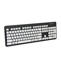 Logitech罗技 K310 可水洗键盘 有线USB超薄键盘