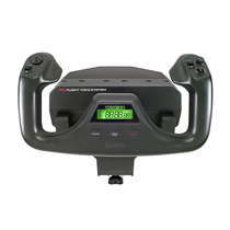 罗技 Flight Yoke System专用控制杆和油门弧座模拟控制器