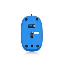 Logitech罗技 M105 有线光学鼠标【蓝色】