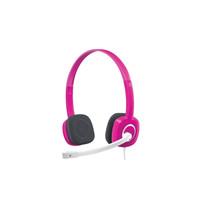 Logitech罗技 H150(红色) 立体声耳机