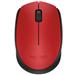 罗技(Logitech)M170无线鼠标 红色