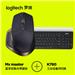 罗技 MX Master 无线鼠标+罗技 K780多设备无线蓝牙键盘
