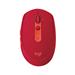 罗技 M590无线蓝牙双模鼠标静音鼠标 宝石红