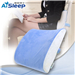AiSleep睡眠博士彩色温感型记忆棉腰靠蓝