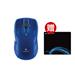 Logitech M545 无线鼠标 蓝色