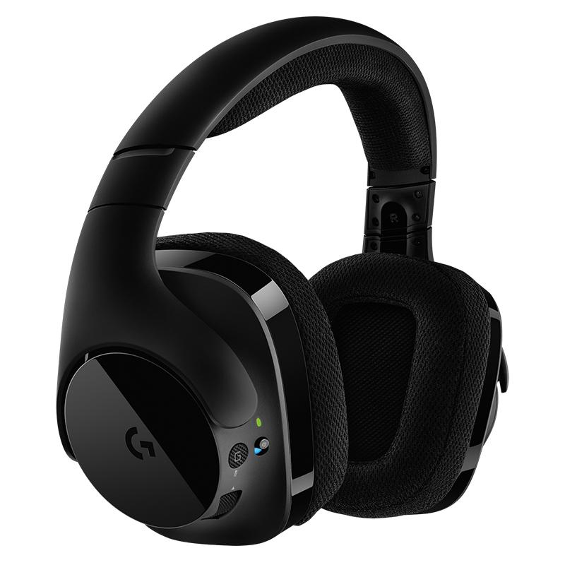 罗技(Logitech)G533 Wireless DTS 7.1 环绕声游戏耳机麦克风