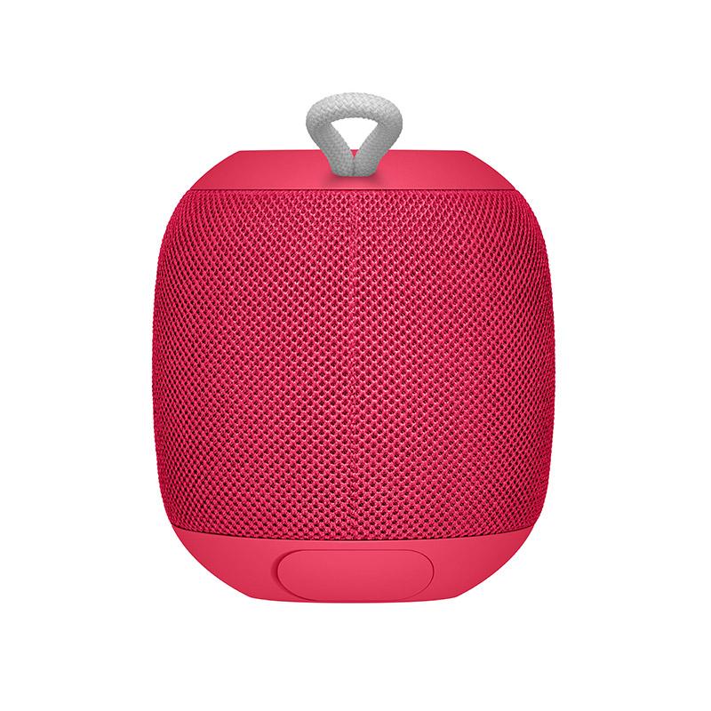 罗技 WONDERBOOM Portable Bluetooth Speaker 便携式蓝牙音箱 覆盆子红