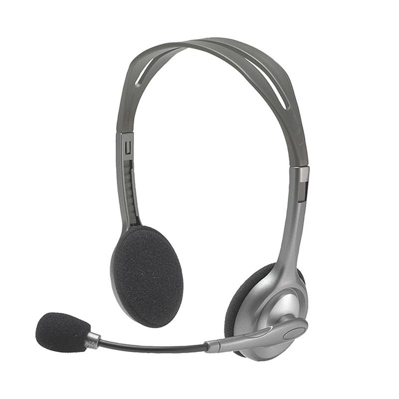 Logitech罗技 H110立体声耳麦