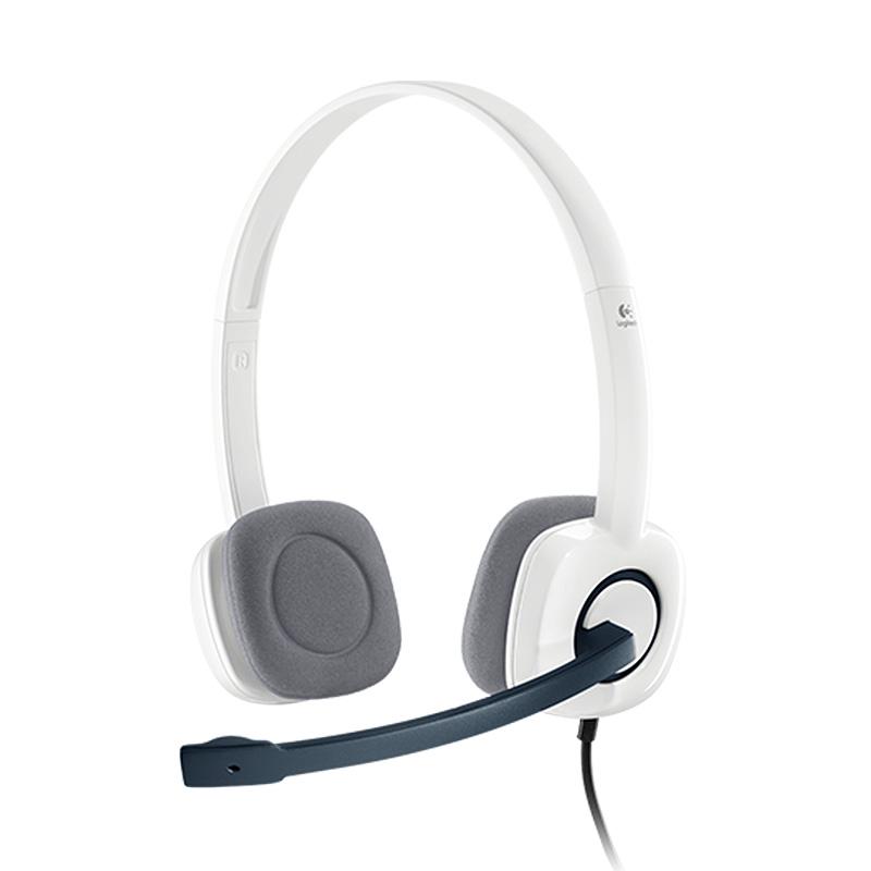 Logitech罗技 H150(白色) 立体声耳机