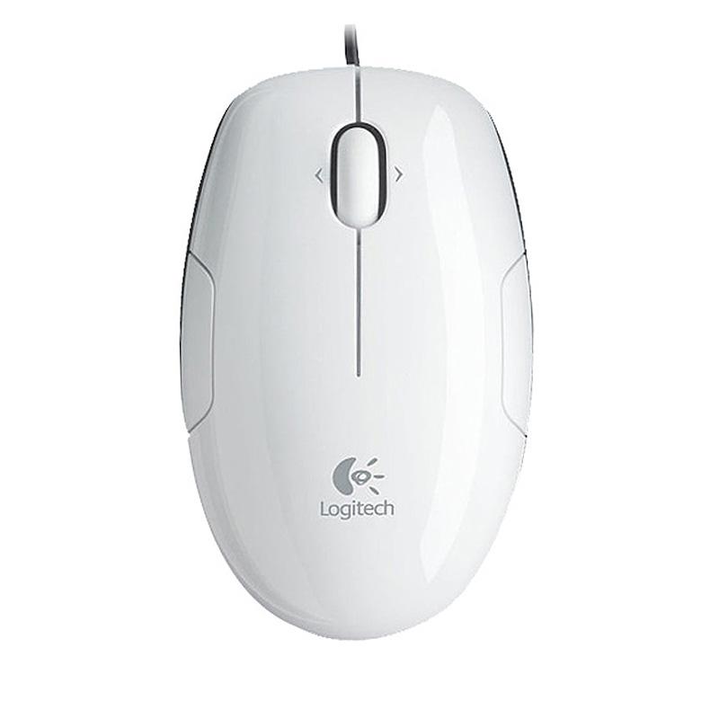 Logitech罗技 LS1(白色绿边)激光鼠标
