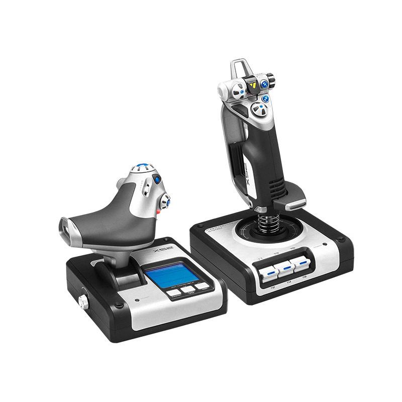 罗技 X52 HOTAS油门和摇杆模拟控制器