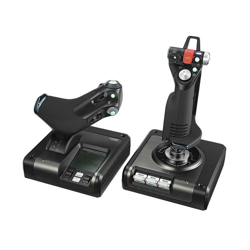 罗技 X52 PROFESSIONAL HOTAS金属部件的油门和摇杆模拟控制器