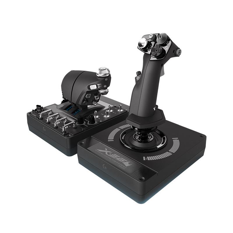 罗技 X56 HOTAS RGB油门和摇杆控制器