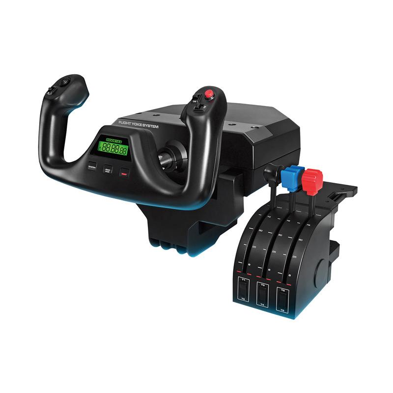 专用控制杆+油门弧座模拟控制器