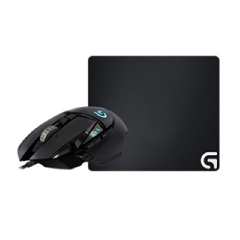 G502自适应鼠标+G640游戏鼠标垫