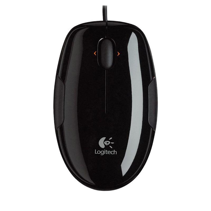 Logitech罗技 LS1(黑色绿边)激光鼠标