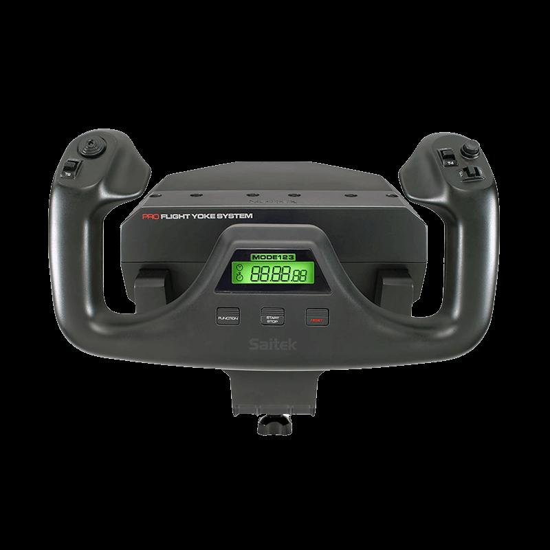 罗技 Flight Yoke System+Flight Throttle Quadrant组合