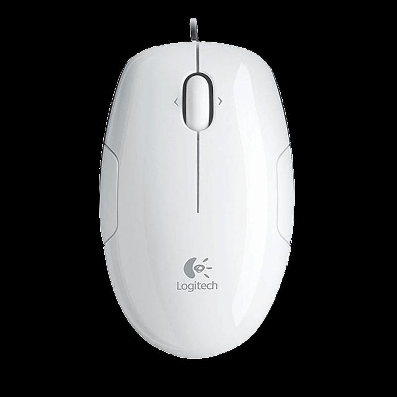 罗技 LS1激光鼠标 白色