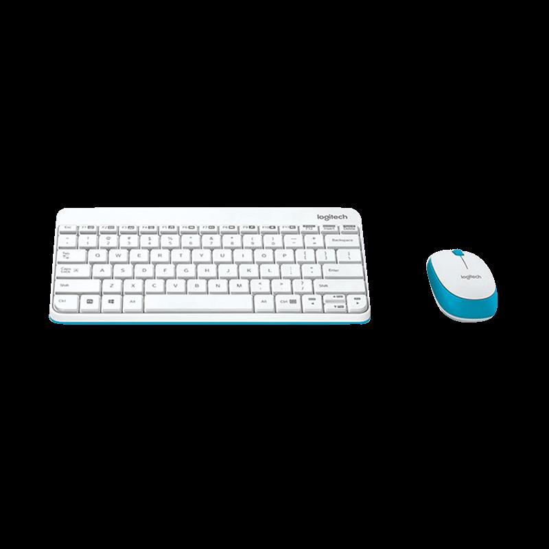 罗技 MK245 Nano无线键鼠套装 白色