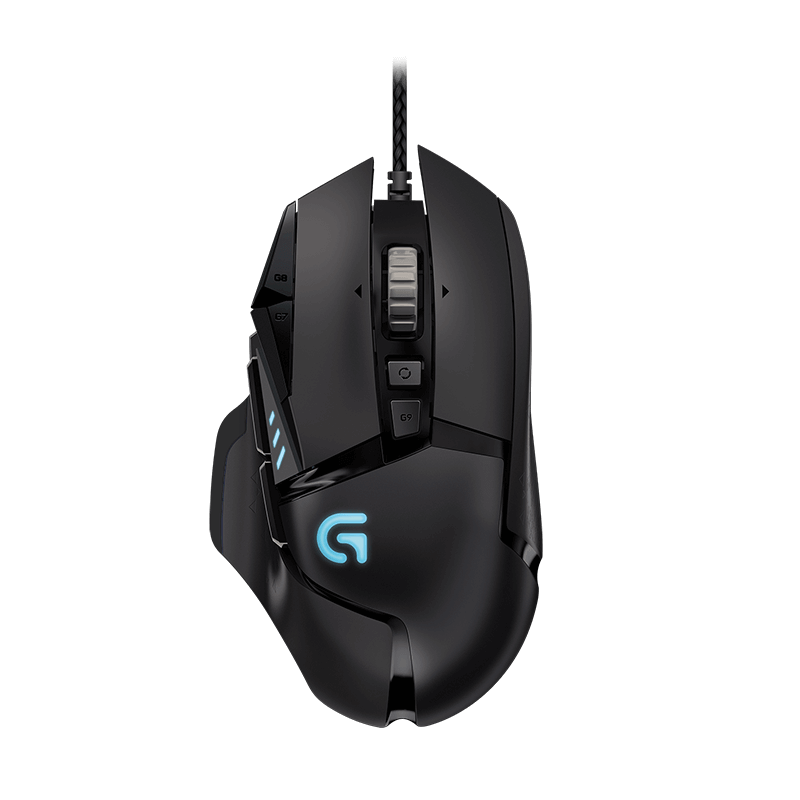 罗技 G502 HERO主宰者有线游戏鼠标【限量送格鲁特摇头公仔】