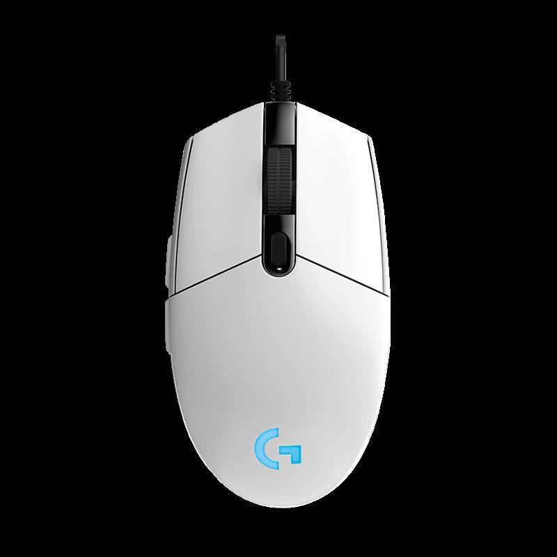罗技 G102游戏鼠标 白色