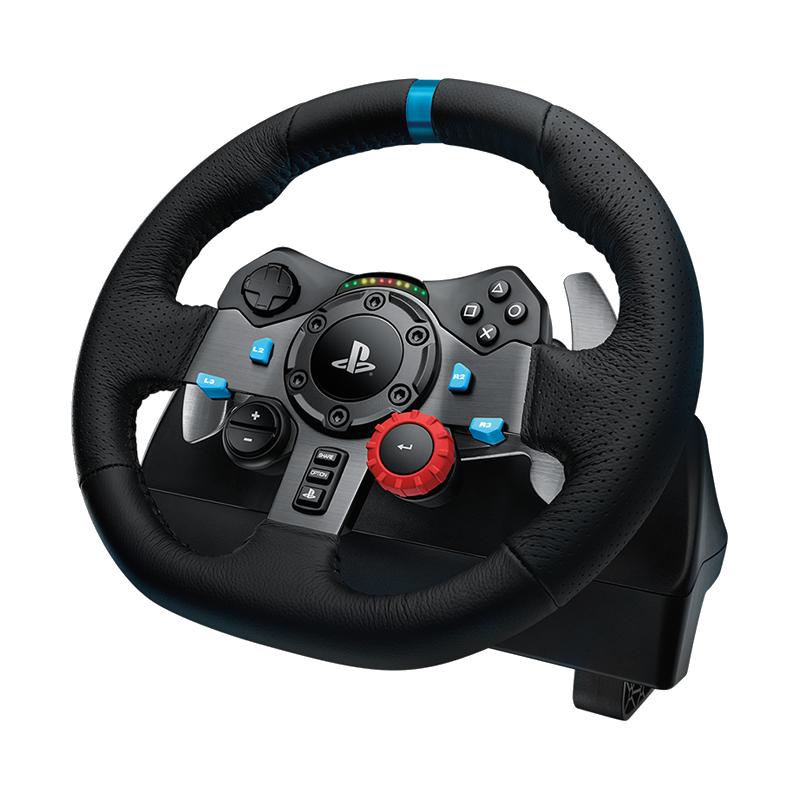 罗技 G29力反馈游戏方向盘