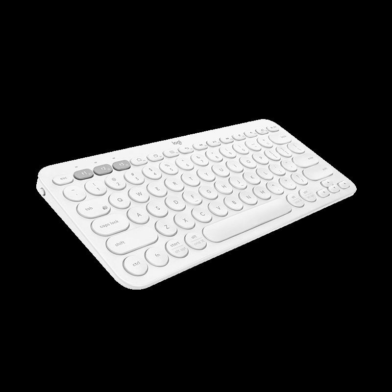 罗技 K380蓝牙键盘 芍药白【限量送罗技办公鼠标垫+李易峰充电宝+键盘贴纸】