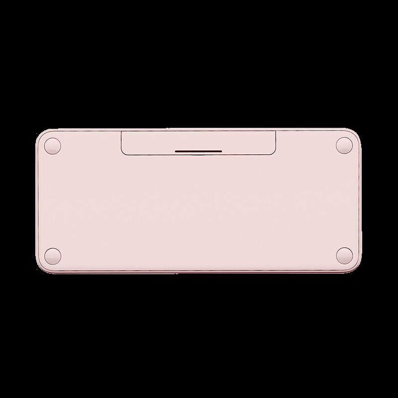 罗技 K380蓝牙键盘 茱萸粉【限量送K380键盘膜键盘包+懒人平板手机支架,颜色随机】