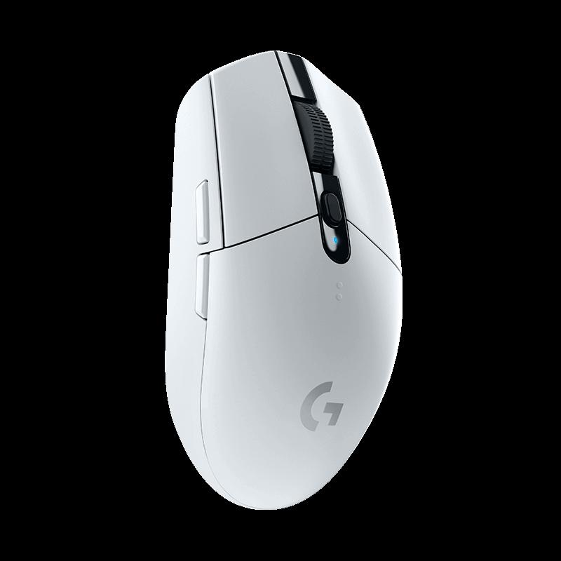 罗技 G304 LIGHTSPEED无线游戏鼠标 白色