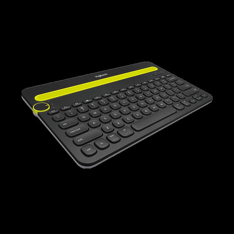 罗技 K480多设备蓝牙键盘 黑色