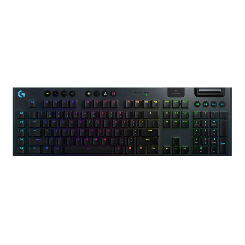 罗技 G913 无线 RGB 机械游戏键盘 (GL-Clicky)