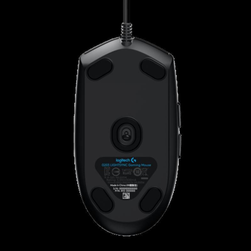 罗技 G102二代 LIGHTSYNC游戏鼠标 黑色【限量送定制礼盒+李易峰玩偶充电宝】