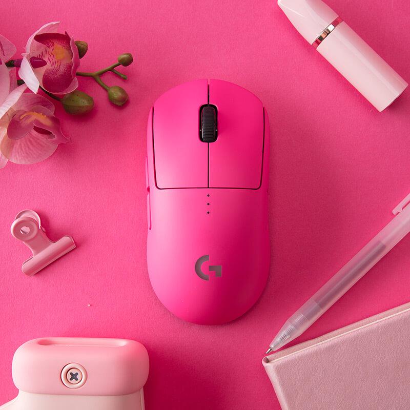 罗技 G PRO无线鼠标 粉色【限量发售】