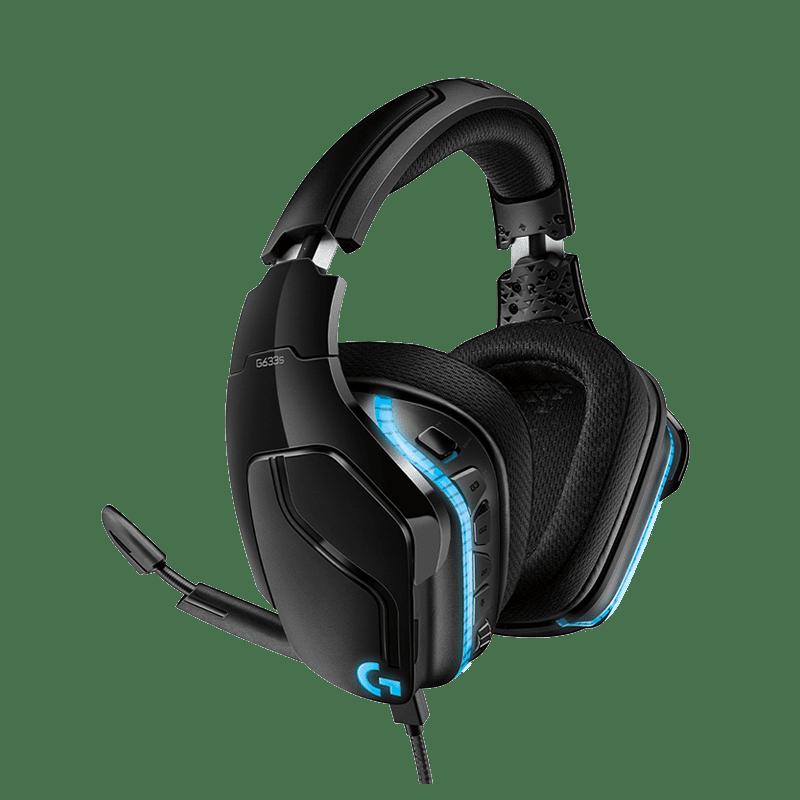 罗技 G633s有线游戏耳机