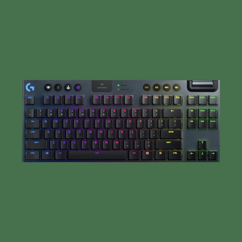 罗技 G913 TKL无线RGB机械游戏键盘(GL-Clicky)【限量送格鲁特摇头公仔】