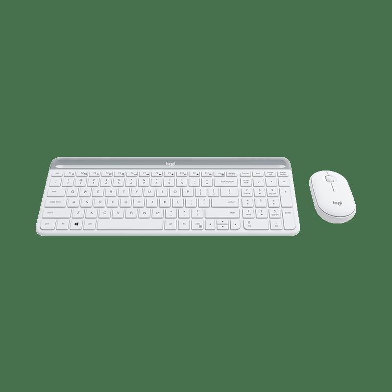 罗技 MK470无线键鼠套装 白色