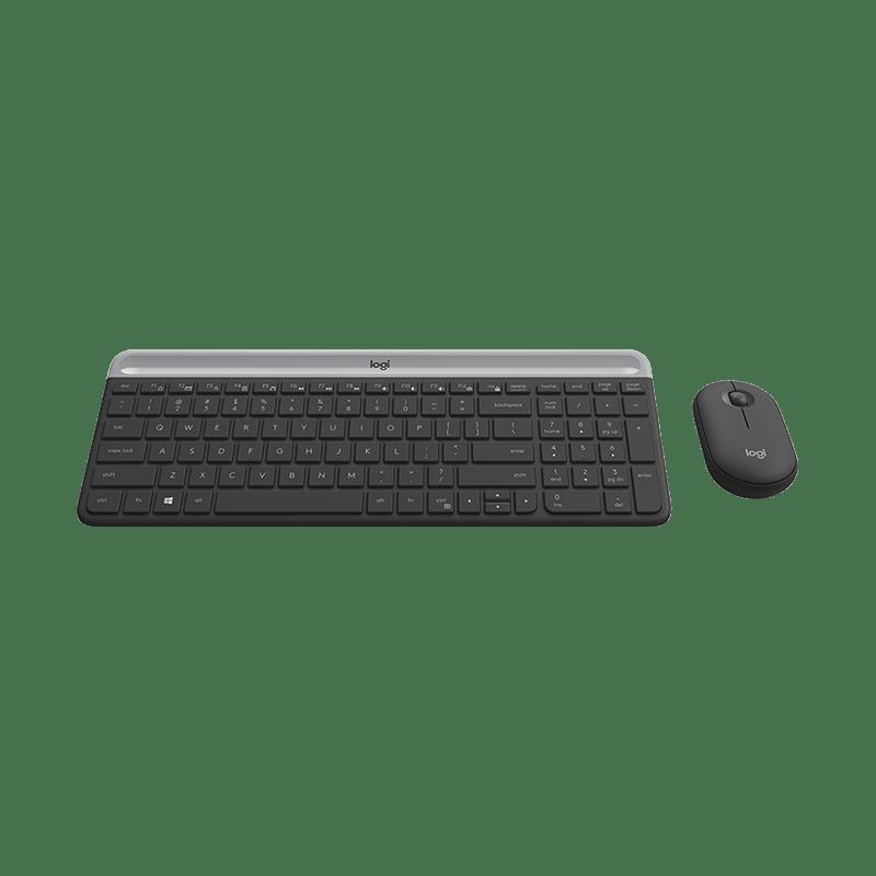 罗技 MK470无线键鼠套装 黑色