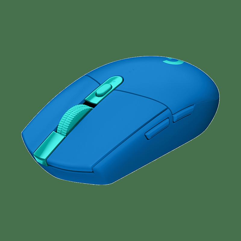 罗技 G304 LIGHTSPEED无线游戏鼠标 蓝色【限量送屁桃咖啡杯】