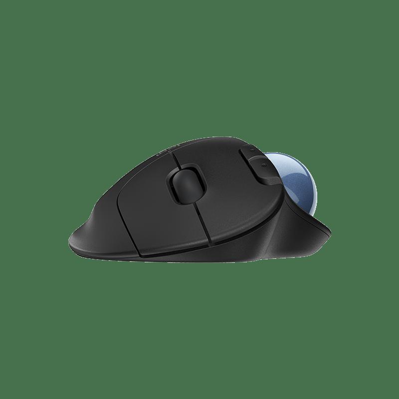 罗技ERGO M575无线轨迹球鼠标 石墨黑